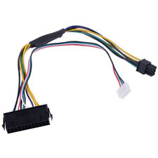 ATX Main 24-Pin to 6-Pin PSU Power Adapter Cable 18AWG for Z220/Z230 HP Systems