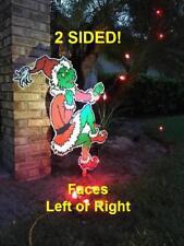 The GRINCH Steals CHRISTMAS Lights Yard Art