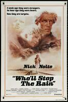 Nick Nolte Tuesday Weld WHO'LL STOP THE RAIN? 1978 1 Sheet Movie Poster 27 x 41