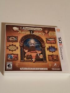 Professor Layton and the Azran Legacy for Nintendo 3DS *Tested and Working*