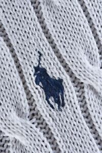 Polo by Ralph Lauren Classic V Neck Jumper Size S