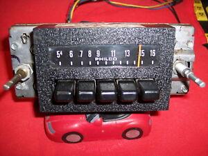 1974 Ford PHILCO AM Truck/CAR  Radio D4AA-18806 BRONCO PICKUP WORKING TUNES 4 U