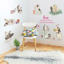 French Bulldog Wall Stickers Art Mural Wallpaper Removable Style Bedroom Decals