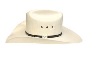 Resistol Men's George Strait Men's Kingman 10X Straw Cowboy Hat - RSKNGK-304281