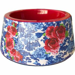 The Pioneer Woman Heritage Floral Melamine Bowl Small 14 oz Dog or Cat BPA Free