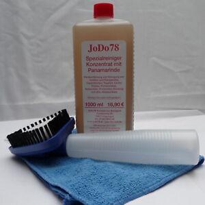 1 L JoDo78 Autopolsterkonzentrat mit Panamarinde für Polster+ Polsterbürste+Tuch