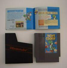 Yoshi's Cookie - NES Nintendo Entertainment System Cartridge