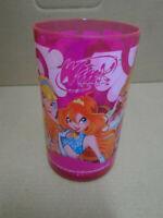Bicchiere in plastica Winx per la scuola materna elementare bambini