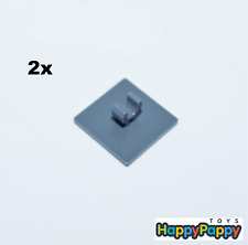 Lego 2x Verkehrszeichen mit Clip Viereckig dunkel grau 15210 Neuware New LEGO Bausteine & Bauzubehör Baukästen & Konstruktion