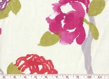 Asian Influence Floral Drapery Fabric by Braemore Fabrics Yoshino CL Blossom