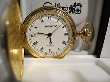 Pocket Watch New clearance 1 (Colibri) Verichron Twotone White Face