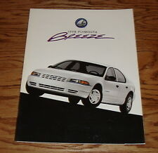 Original 1998 Plymouth Breeze Deluxe Sales Brochure 98
