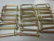 """~ 20 ~ SQUARE 3/8"""" X 3"""" CANOPY PTO PINS CAMPER AWNING TRAILER HITCH HOOK PIN"""