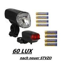 Büchel Trio Lux Pro LED Batterieleuchten Set 60 Lux Scheinwerfer Rücklicht StVZO