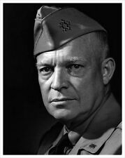 5 Star General Dwight D Eisenhower U.S. Army 8.5x11 Rare Photo