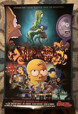 SDCC 2019 Comic Con The Simpsons Treehouse Of Horror XXX Poster FOX