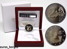 """LUXEMBURG 2012 2 EURO """"HOCHZEIT PRINZENHOCHZEIT"""" PP PROOF NUR 2.000 STÜCK"""