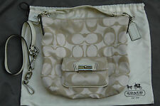 NWT Coach Kristin Beige Crossbody / Shoulder Handbag 14904 - 100% AUTHENTIC
