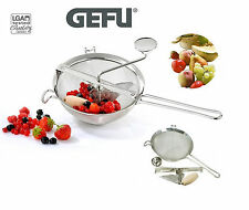 Gefu: Passiersieb- Stainer Press pompe pour fruits berry-berry