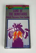 New Uav Vhs Land of the Minotaur 1986 Horror Donald Pleasance Peter Cushing Htf