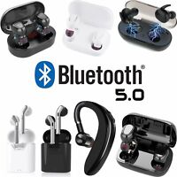 TWS Wireless Bluetooth 5.0 Headphones Headsets with Charging Case Earbuds