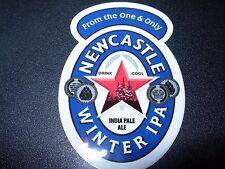 "NEWCASTLE WINTER IPA 3"" Logo STICKER decal craft beer brewery brewing"