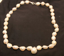 Freshwater Pearls Pearl Necklace & Bracelet Set Real Genuine Authentic