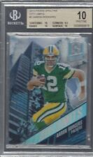 AARON RODGERS 2013 SPECTRA CITY LIMITS PRIZM #D 41/99 BGS 10 PRISTINE POP 1/1