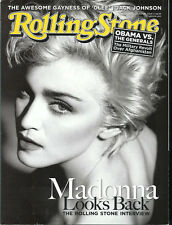 MADONNA interview photos topless  MOTORHEAD Lemmy Kilmister 2009 Rolling Stone