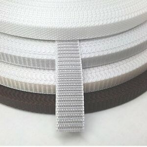 Roll-Up Strap Webbing 22/23 MM For Electric Belt Winder Roller Blinds 1,2 Thick