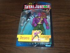1996 KENNER TOTAL JUSTICE DESPERO ACTION FIGURE with GALACTIC BODY BLOW ATTACK