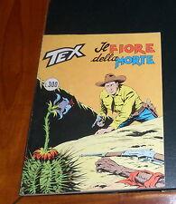 Tex 161 Il fiore della morte ORIGINALE (1974) con INSERTO Daim Press OTTIMO