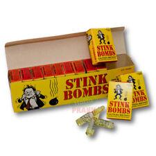 36 Glass Stink Bombs - Stinky Glass Fart Gag Prank Joke Puke Liquid Ass Smell