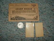 Champ  decals HO HC-47 Pannsylvania Twin Hopper E52