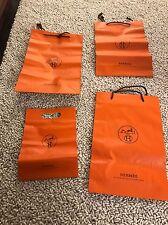 Hermes Shopping bags Lot Of 4