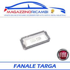 FANALE TARGA POSTERIORE FIAT 500 E FIAT 500 ABARTH ORIGINALE FIAT 51800482