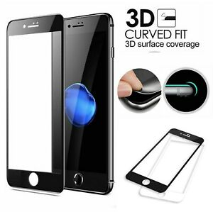 3D Full Cover Tempered Glass Screen Protector film for iPhone 6 6S 7 8 7 8 PLUS