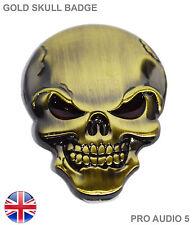 Bota de Oro ala cráneo insignia de cuerpo-bicicleta auto van camión Ford VW Opel Fiat UK