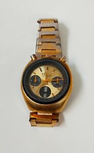 VINTAGE CITIZEN REF 67-9020 AUTOMATIC CHRONOGRAPH BRAD PITT WATCH FROM Ca 1975