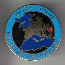 RARE PINS PIN'S .. POLICE MOBILE PATROUILLE TEAM MITTELAND OBERAARGAU SUISSE ~DB