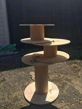 Industrial Cable Drum Reel Plywood Steel Reinforcement Cardboard Core - Qty 1