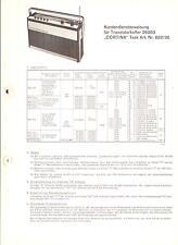Körting Original Service Manual für Cortina  Art.-Nr. 822-36  26053