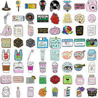 Cartoon Enamel Lapel Collar Bat Pin Corsage Brooch Badge Jewelry Women Xmas Gift
