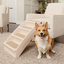 PetSafe CozyUp Folding Pet Steps, Foldable Steps for Dogs and Cats, Best for Sm