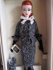Barbie Silkstone Black & White tweed Suit entrega inmediata