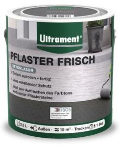 Ultrament Betonlasur Pflaster Frisch 2,5 L anthrazit Lasur zum Auffrischen