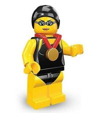 Swimming Champion LEGO Series 7 Collectible Minifigure 8831 Retired Rare