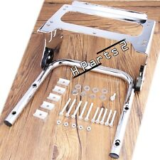 Detachable Two Up 2-up Tour Pak Mounting Luggage Rack for Harley Part 97-08