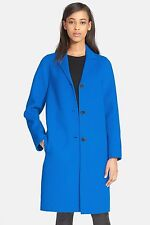 VINCE. Classic Wool Blend Coat, SIZE SMALL, S