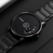 SKMEI Creative Luxury Male Stainless Steel Strap Quartz Business Wrist Watch